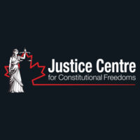 Justice Centre Premium Hoodie Dark Colours with Keep Calm Defend Free Speech on Back Design