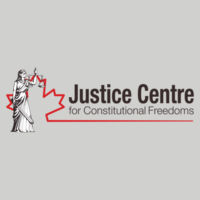 Justice Centre Zipper Hoodie light grey Design