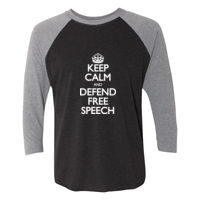 Justice Centre Baseball T-Shirt Light Lettering Thumbnail